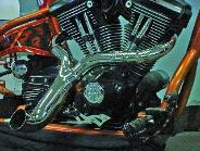 EXOTIC CHOPPERS Custom exhaust for: Milwaukee 8, Softail